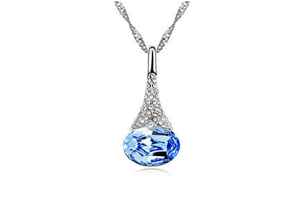 Crystal Water Drop Pendant - Ashley Jewels - 2