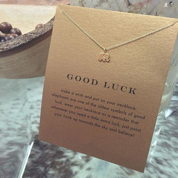Good Luck Elephant Pendent - Ashley Jewels - 2