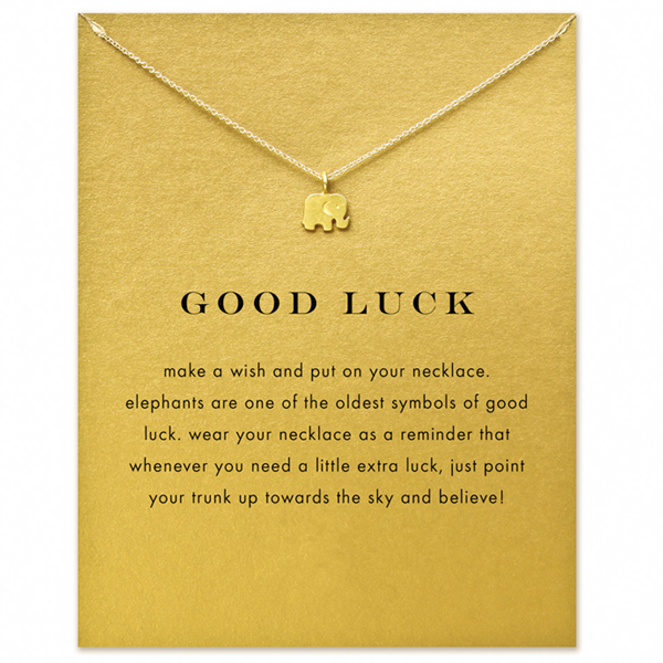 Good Luck Elephant Pendent - Ashley Jewels - 1