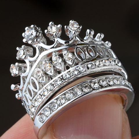 Imperial Crown Ring Set - Ashley Jewels - 7