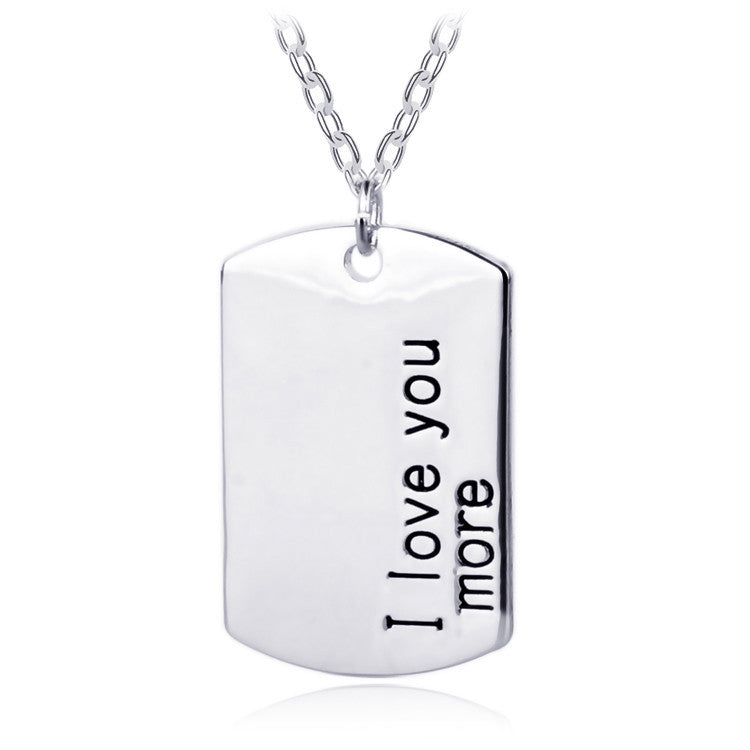I Love You More - For Men - Ashley Jewels - 1