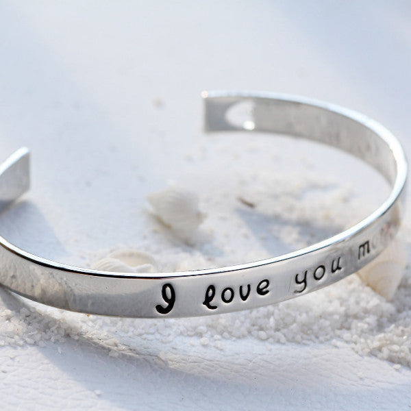 I Love You More Bangle - Ashley Jewels - 8