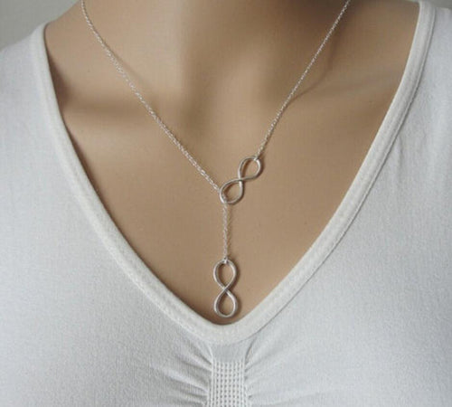 Infinity Necklace - Ashley Jewels