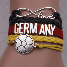 Germany Soccer Bracelet - Ashley Jewels - 1