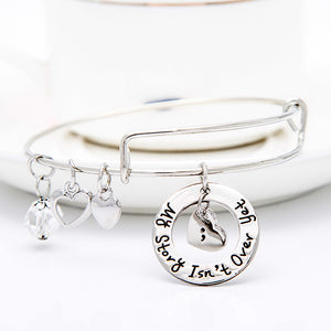 My Story isn't Over Yet Charms Bangle