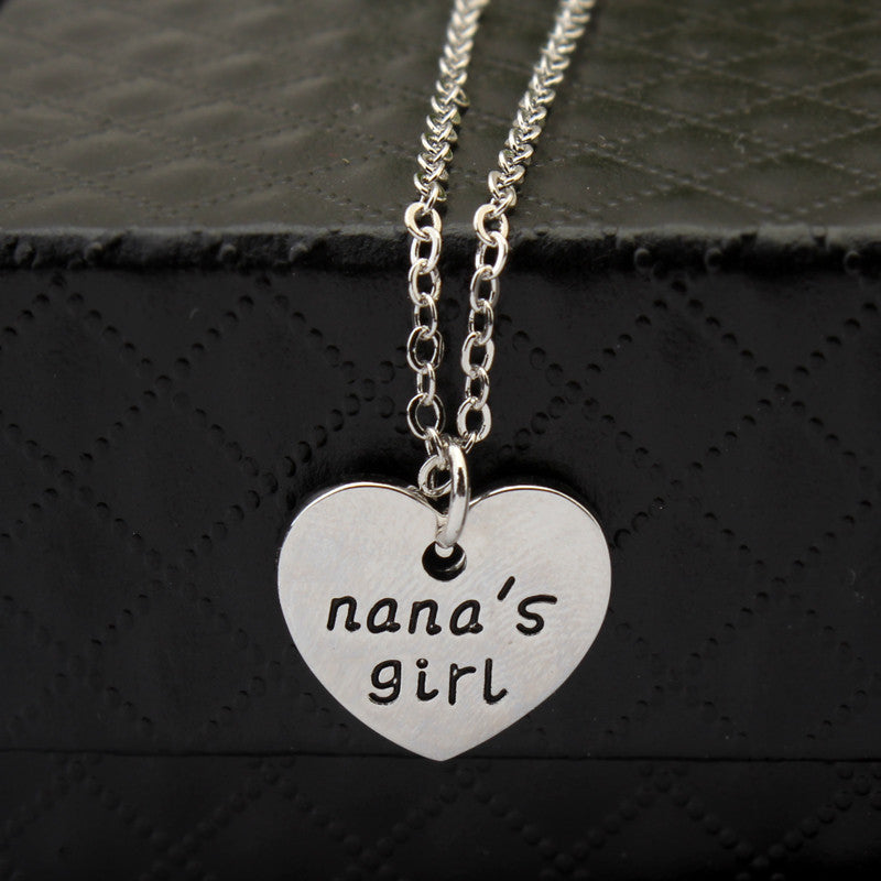Nana's Girl Single Necklace - Ashley Jewels - 1