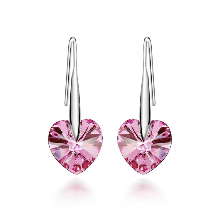Pink Hook earring - Ashley Jewels - 1