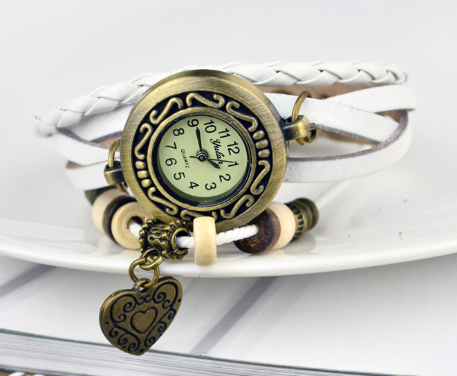 Heart Vintage Wrap Watch - Ashley Jewels - 7