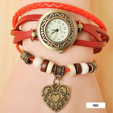 Heart Vintage Wrap Watch - Ashley Jewels - 5