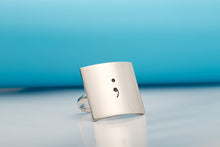Adjustable Semicolon Ring - Ashley Jewels - 2