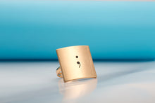 Adjustable Semicolon Ring - Ashley Jewels - 4