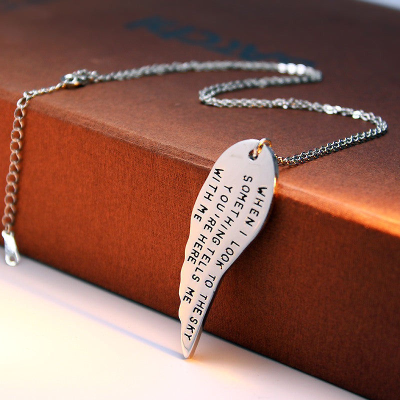 You're Here With Me Pendant - Ashley Jewels - 2
