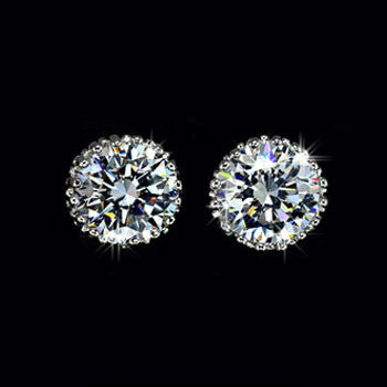 Australian Crystal Stud Earring - Ashley Jewels - 2