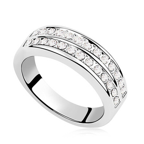 Double Band Eternity Ring - Ashley Jewels