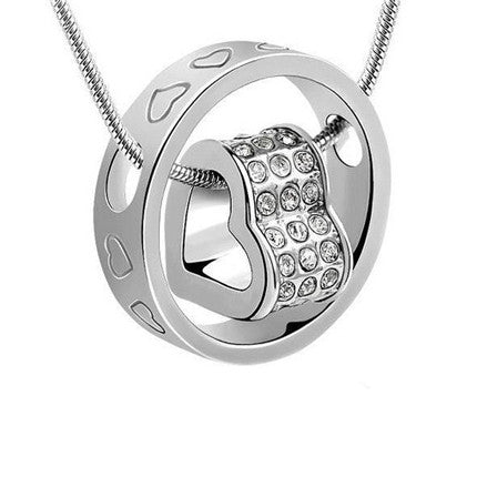 Swarovski Elements Eternal Heart Necklace - Ashley Jewels - 1