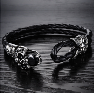Dark Skull Men's Bracelet - Ashley Jewels - 2