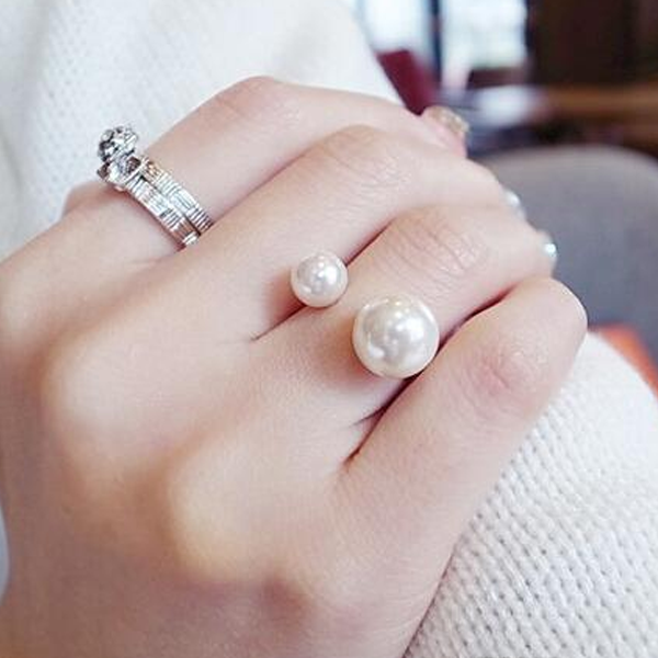 18K Pearl Ring - Ashley Jewels - 1