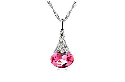 Crystal Water Drop Pendant - Ashley Jewels - 7
