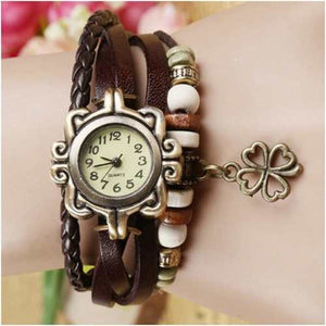 Flower Vintage Wrap Watch - Ashley Jewels
