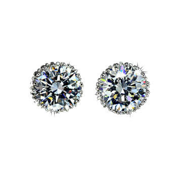Australian Crystal Stud Earring - Ashley Jewels - 1