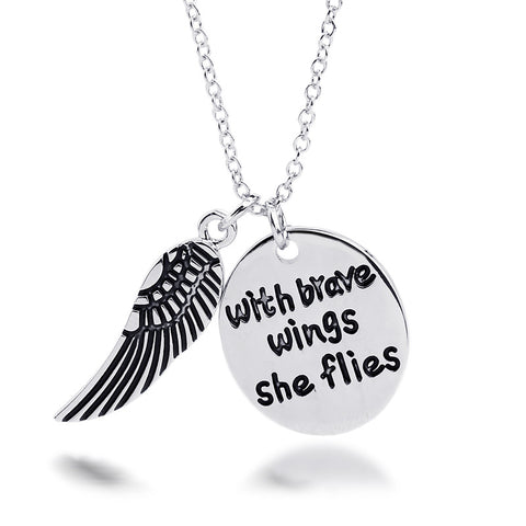 With Brave Wings She Flies - Ashley Jewels - 1