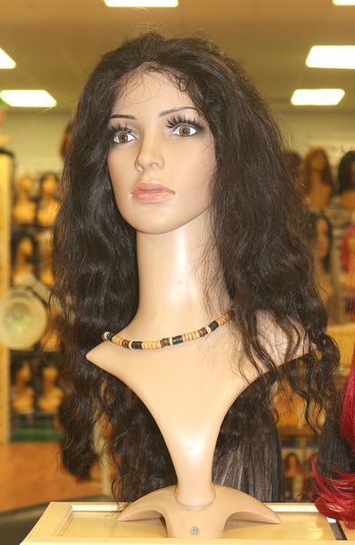 VIP Full Lace Wig Malaysian Natural Black - Hair and Accessories Inc