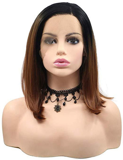 Lace Front Wig Short Bob Heat Resistant Hair Wigs - Hair and Accessories Inc