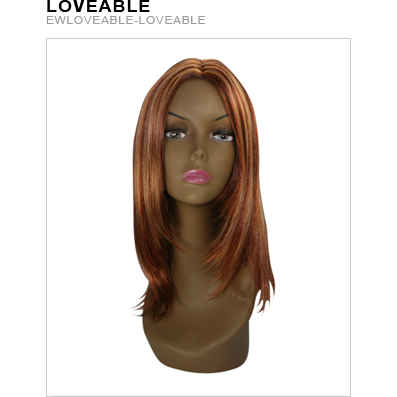 Exotic Collection Loveable Wig - Hair and Accessories Inc