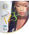 Super X TZ3 - Teased 3 Bundles Braid - Hair and Accessories Inc