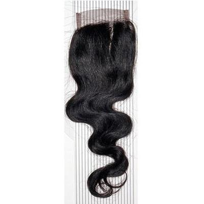 VIP Collection Brazilian Body Curl Virgin Hair Closure - Hair and Accessories Inc