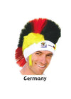 2010 Official FIFA Soccer Mohawk Wig - Hair and Accessories Inc
