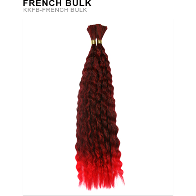 "Unique's Kanekalon French Bulk 22"" - Hair and Accessories Inc"