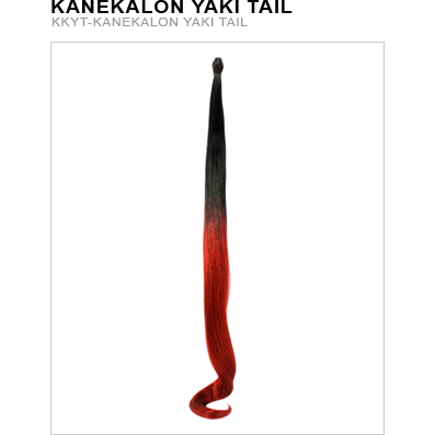 Kanekalon Yaki Tail - Hair and Accessories Inc