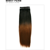 Unique's Human Hair Minky Perm 12 Inch - Hair and Accessories Inc