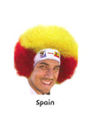 2010 Official Fifa Soccer Afro Wig - Hair and Accessories Inc