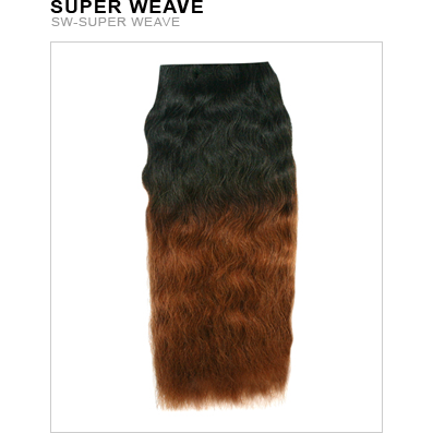 Unique's Human Hair Super Weave Wet & Wavy 8 Inch - Hair and Accessories Inc