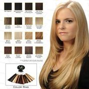 VIP Collection Synthetic Clip-In Extensions / Garnet 20äó? Style - Hair and Accessories Inc