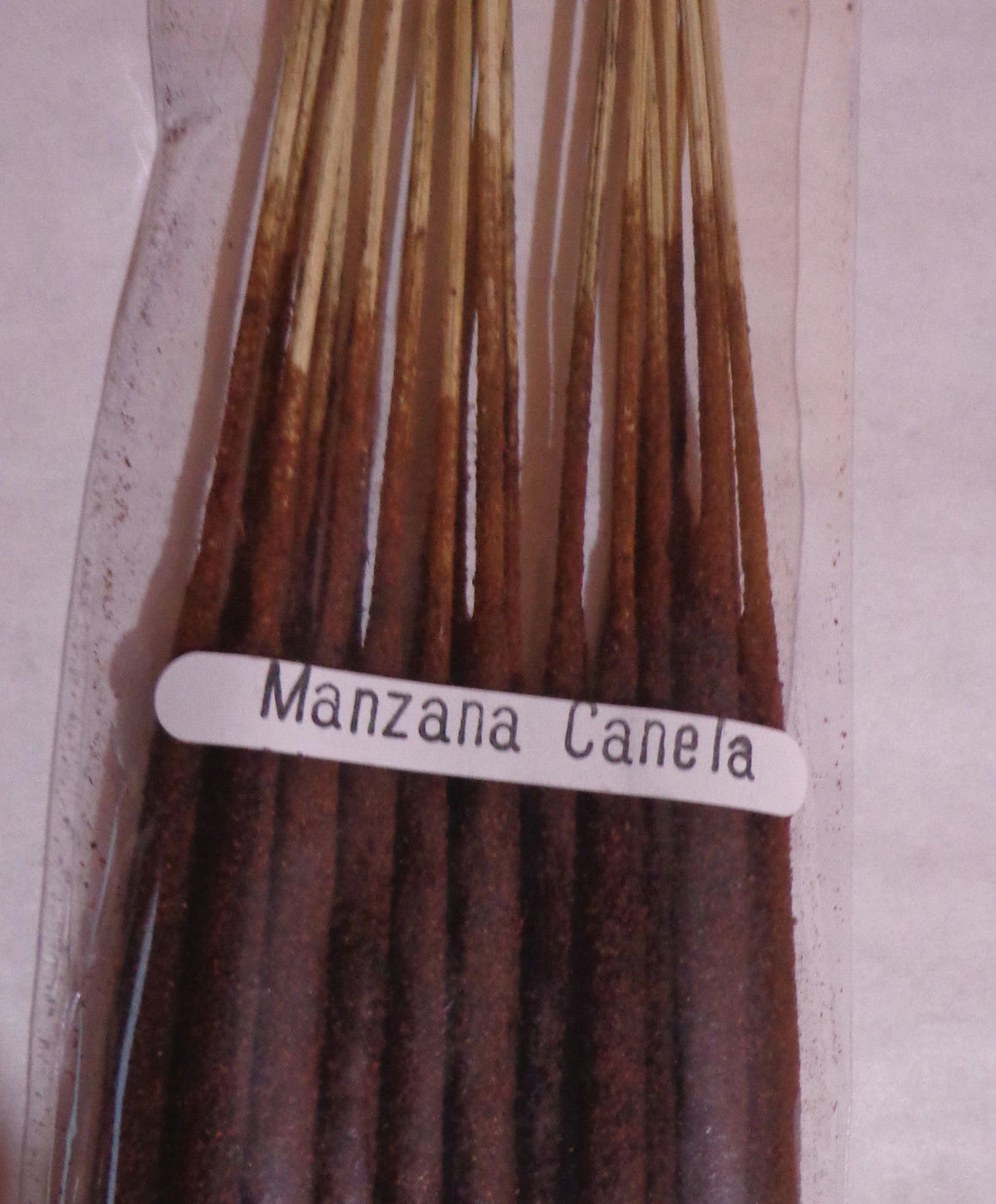 Incense Apple Cinnamon 20 Sticks from Mexico Long Duration 1.5 hours