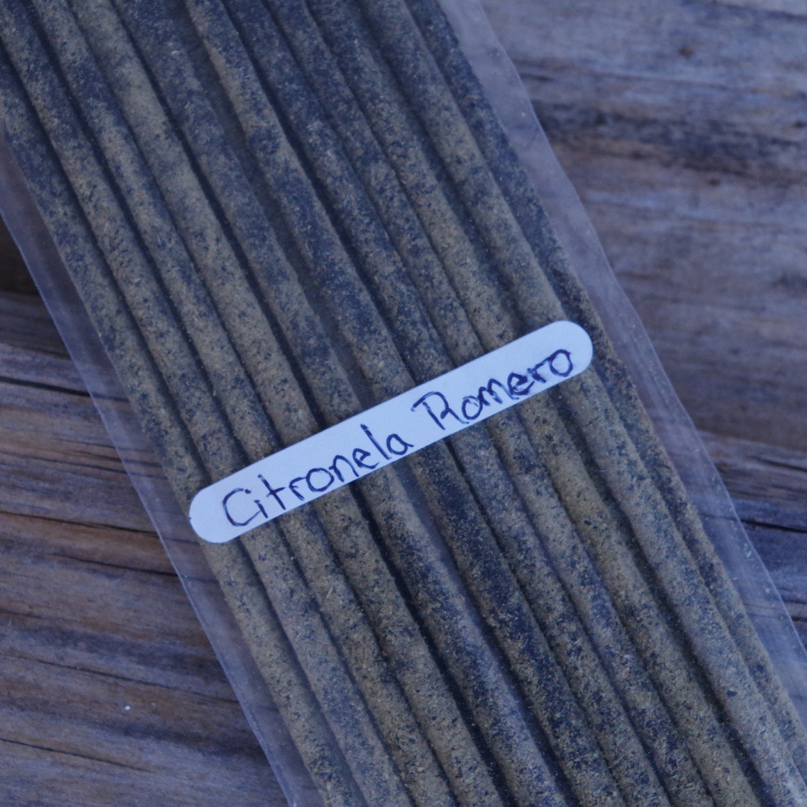 20 Rosemary & Citronella Incense Sticks Handrolled In Mexico Long Duration 1.5 hours