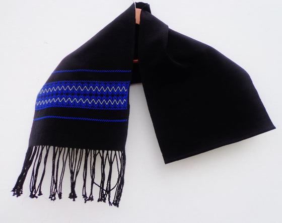 Mexican Women's Accessories Rebozo Shawl Wrap Scarf High Quality Woven Chiapas