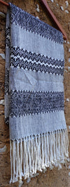 Mexican Rebozo Shawl High Quality Handwoven with Mayan Design from Chiapas