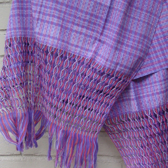 Mexican Women's Accessories Rebozo Shawl Wrap Pareo Scarf Runner From Tenancingo