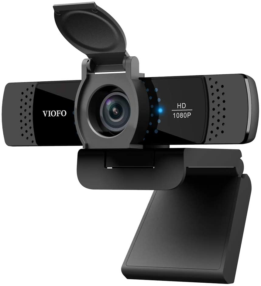 Viofo P800 1080P Webcam with Dual Mics and Privacy Cover