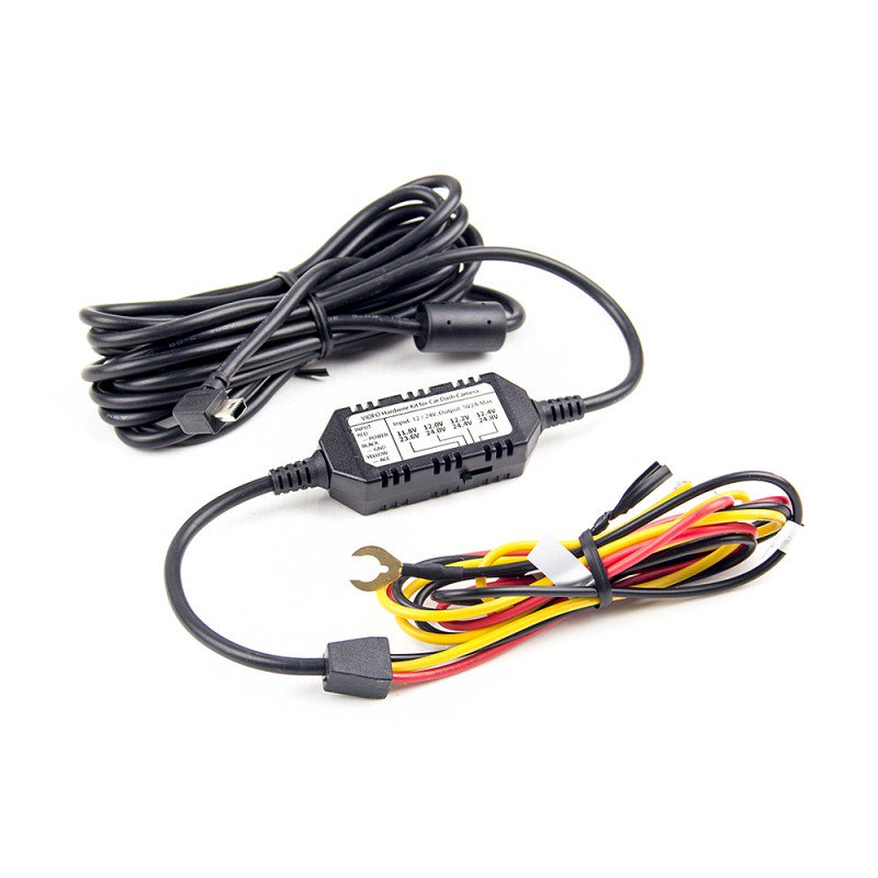 Viofo 3-Wire Hardwire Kit for the A119V3, A129 and A129 DUO (with or without a Tap-A-Fuse Kit)