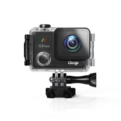 GitUp G3 Duo Action Camera With WiFi - 170 Degree Lens Model - Used/Open Box