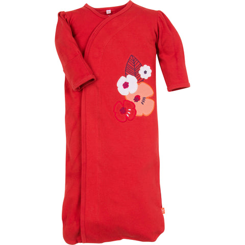 Magnificent Baby - Poppies Closed Bottom Gown