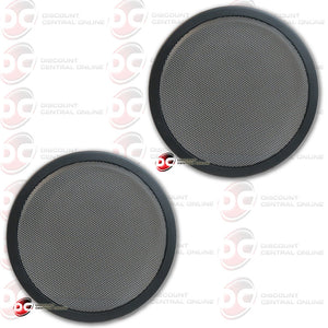 "2x High Quality Universal 10"" Car Audio Metal Subwoofer Grille"