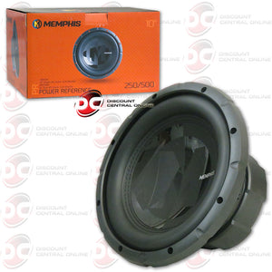 "Memphis 15-PRX104 10"" Single Coil Car Audio Subwoofer (Power Reference Series)"