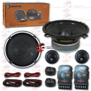 "Memphis 15-PRX5C 5.25"" Car Component Speakers System"