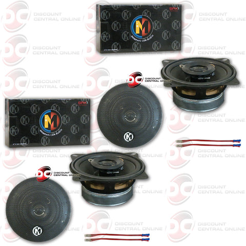 "4 x Memphis 15-SRX42  4"" Car Audio Speakers (Street Reference Series)"